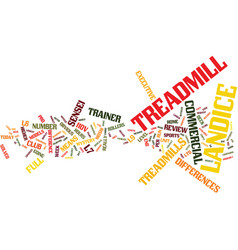 The landice treadmill mystery solved text vector