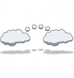 cloudtocloud computing vector image vector image