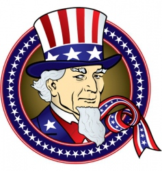 uncle Sam vector image
