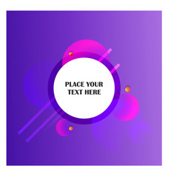 abstract line background with purple background vector image