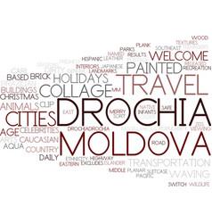 Drochia word cloud concept vector