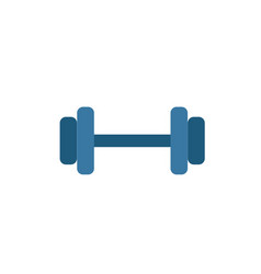 dumbbells icon simple element from sport vector image