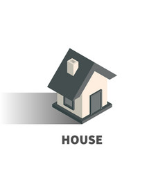 house icon symbol vector image