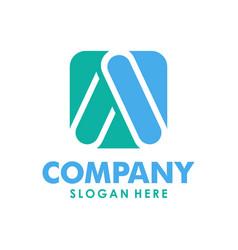 initial a logo creative concept vector image