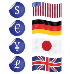 international currency vector image
