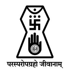 Jain logo icon vector