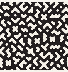Seamless pattern randomly scattered vector