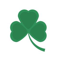 st patricks day clover symbol vector image