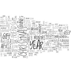 what christmas and new year again text word cloud vector image