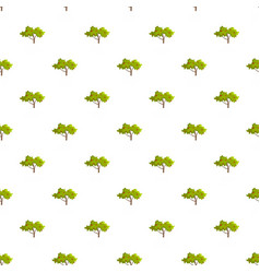 Apple tree pattern seamless vector