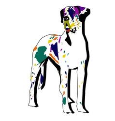 CARNIVAL DOG vector