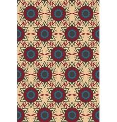 Ethnic boho seamless pattern Tribal art print vector