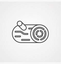 log icon sign symbol vector image