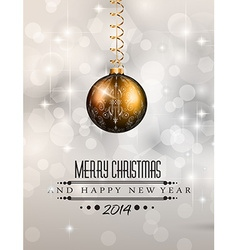 2014 Christmas Colorful Background vector image vector image