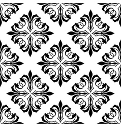 Ornamental arabesque seamless vector image vector image
