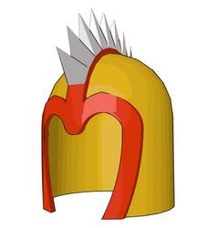 A spiny helmet sketch or color vector