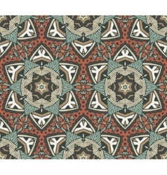 Abstract vintage seamless pattern ornamental vector