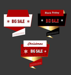 Big sale card vector