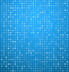 Circles blue technology pattern vector
