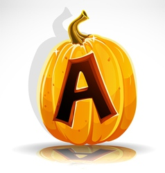 Halloween Pumpkin A vector