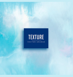 Light blue watercolor texture background vector