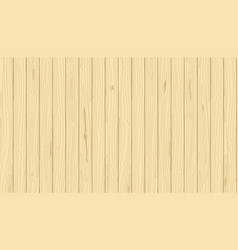 light wooden vertical planks grain vector image