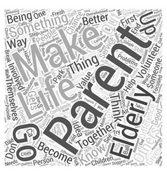 Making a Difference Together Word Cloud Concept vector