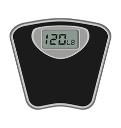 scale digital measure icon vector image