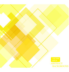 yellow square pattern wallpaper design-01 vector image