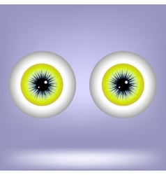 Two Eyes vector image