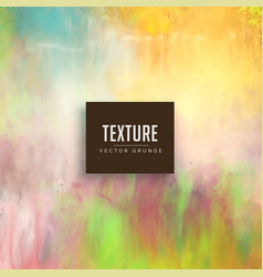 pastel color watercolor texture stain background vector image vector image