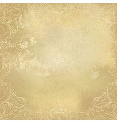 Aged background paper ornamental vector