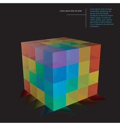 Building blocks vector image