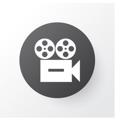 camera icon symbol premium quality isolated video vector image