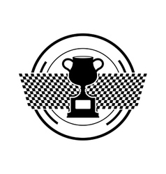 Cup trophy championship vector