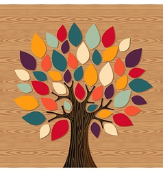 Global Diversity tree vector