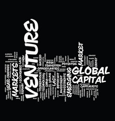 Global venture capital ernst young reports on vector
