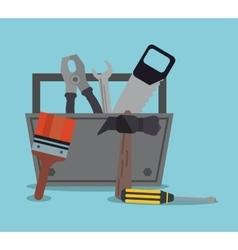 repair tools construction design vector image
