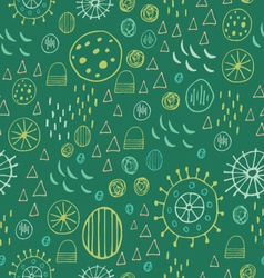 Scandinavian style abstract seamless pattern vector image
