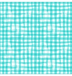 Seamless pattern with square hand drawn vector