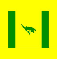 flag of isla culebra puerto rico usa vector image