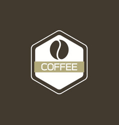 coffee logo icon vector image