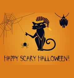 happy scary halloween vector image