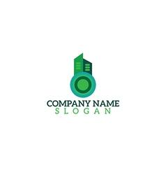 logo building vector image