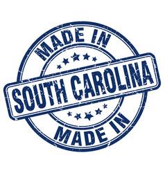 made in south carolina vector image vector image