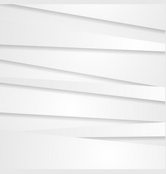 Abstract white grey stripes corporate background vector