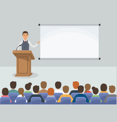 Business people meeting in conference room vector