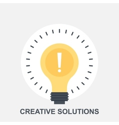 Creative Solutions vector image