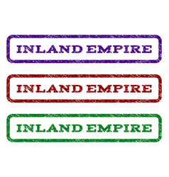 Inland empire watermark stamp vector