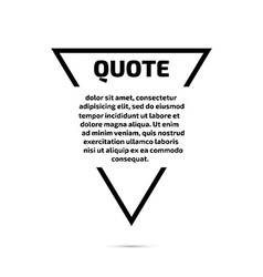 Quote text bubble Template set vector
